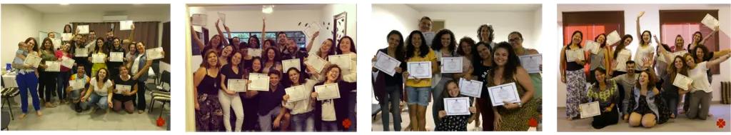 Alunos certificados reconhecidos mundialmente